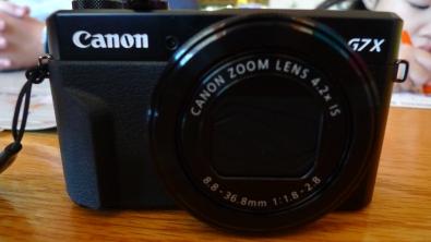 Canon G7X Markii